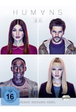 Humans - Die komplette Staffel 2  [3 DVDs] DVD-Cover