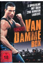 Van Damme Action-Box (3 Filme-Uncut-Edition) DVD-Cover