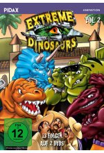 Extreme Dinosaurs, Vol. 2  / Weitere 13 Folgen der Kultserie (Pidax Animation)  [2 DVDs]<br><br> DVD-Cover