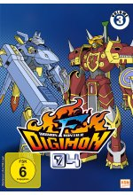 Digimon Frontier - Volume 3: Episode 35-50  [3 DVDs] DVD-Cover