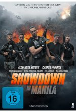 Showdown in Manila - Uncut Edition DVD-Cover