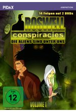 Roswell Conspiracies Vol. 1  [2 DVDs] DVD-Cover