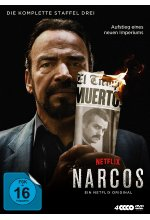 Narcos - Staffel 3  [4 DVDs] DVD-Cover
