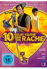 Zehn gelbe Fäuste für die Rache - The Angry Guest (Shaw Brothers Collection) (DVD) DVD-Cover