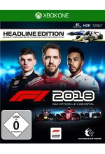 F1 2018 Headline Edition Cover