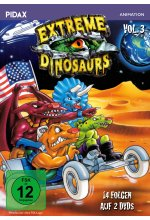 Extreme Dinosaurs, Vol. 3  / Weitere 14 Folgen der Kultserie (Pidax Animation)  [2 DVDs]<br><br> DVD-Cover