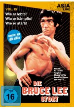 Die Bruce Lee Story - Asia Line Vol. 15 - Limitierte Edition DVD-Cover