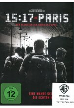 15:17 to Paris DVD-Cover