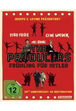 The Producers - Frühling für Hitler - 50th Anniversary Edition Blu-ray-Cover
