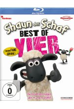Shaun das Schaf - Best of Vier Blu-ray-Cover