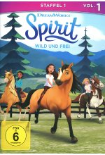 Spirit - Wild und Frei - Staffel 1 Vol. 1 DVD-Cover