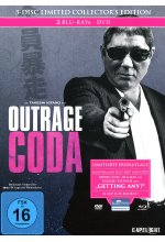 Outrage Coda - 3-Disc Limited Collector's Edition im Mediabook  [+DVD + Bonus-Blu-ray] Blu-ray-Cover