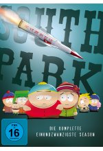 South Park - Die komplette Season 21  [2 DVDs] DVD-Cover