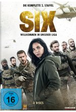 Six - Die komplette 2. Staffel  [3 DVDs] DVD-Cover