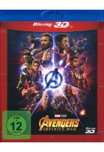 Marvel's The Avengers - Infinity War Blu-ray 3D-Cover