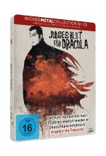Junges Blut für Dracula - Wicked Metal Collection Nr. 3 - Limited FuturePak Edition / 1000 Stück Blu-ray-Cover