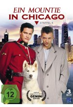 Ein Mountie in Chicago - Staffel 4  [3 DVDs] DVD-Cover