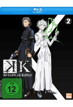 K - Return of Kings - Staffel 2.2: Episode 06-09 Blu-ray-Cover