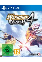 Warriors Orochi 4 Cover