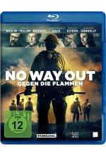 No Way Out - Gegen die Flammen Blu-ray-Cover