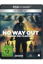 No Way Out - Gegen die Flammen  (4K Ultra-HD) Cover