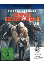 Rampage - Big Meets Bigger Blu-ray 3D-Cover