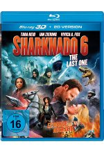 Sharknado 6 - The Last One (Es wurde auch Zeit!) - Uncut  (+ Blu-ray 2D) Blu-ray 3D-Cover