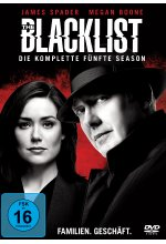 The Blacklist - Season 5  [6 DVDs] DVD-Cover