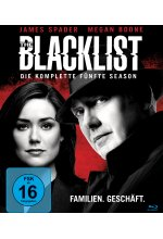 The Blacklist - Season 5  [6 BRs] Blu-ray-Cover