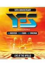 Live at the Apollo - Yes Feat. Jon Anderson/Trevor Rabin/Rick Wakeman Blu-ray-Cover
