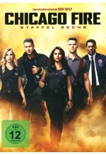 Chicago Fire - Staffel 6  [6 DVDs] DVD-Cover