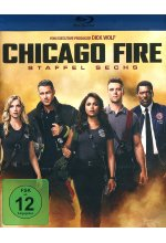Chicago Fire - Staffel 6  [6 BRs] Blu-ray-Cover