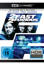 2 Fast 2 Furious  (4K Ultra HD) (+ Blu-ray 2D) Cover