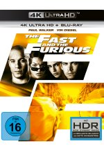 The Fast and the Furious  (4K Ultra HD) (+ Blu-ray 2D) Cover