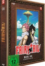 Fairy Tail - TV-Serie - Box 5  (Episoden 99-124)  [4 DVDs] DVD-Cover