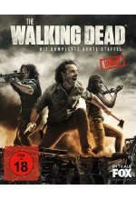 The Walking Dead - Die komplette achte Staffel - Uncut  [6 BRs] Blu-ray-Cover
