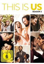 This is us - Season 2  [5 DVDs] DVD-Cover