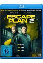 Escape Plan 2 - Hades Blu-ray-Cover