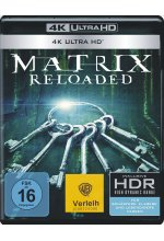 Matrix Reloaded  (4K Ultra HD) Cover