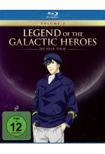 Legend of the Galactic Heroes: Die Neue These Vol.2 Blu-ray-Cover