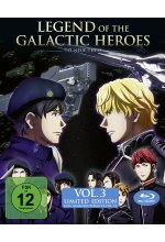 Legend of the Galactic Heroes: Die Neue These Vol.3 + Sammelschuber  [LE] Blu-ray-Cover