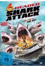 6-Headed Shark Attack (uncut) DVD-Cover