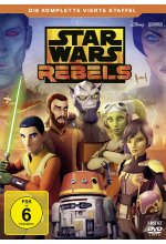 Star Wars Rebels - Die komplette vierte Staffel  [3 DVDs] DVD-Cover