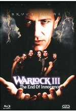 Warlock 3 - The End of Innocence - Mediabook - Limited Collector's Edition  (+ DVD) Blu-ray-Cover