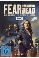 Fear the Walking Dead - Die komplette vierte Staffel - Uncut  [4 DVDs] DVD-Cover