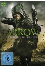 Arrow - Staffel 6  [5 DVDs] DVD-Cover
