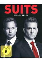 Suits - Season 7  [4 BRs] Blu-ray-Cover