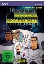 Roswell Conspiracies, Vol. 3  / Weitere 13 Folgen der spannenden Mystery-Science-Fiction-Serie (Pidax Animation)  [2 DVD DVD-Cover
