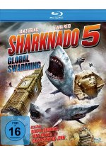 Sharknado 5 - Global Swarming (Uncut Fassung) Blu-ray-Cover
