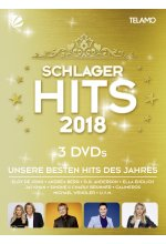 Schlager Hits 2018  [3 DVDs] DVD-Cover